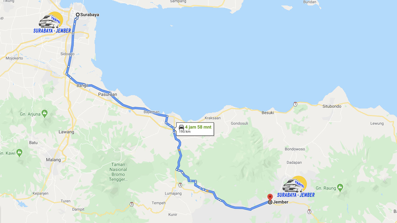 Surabaya - Jember